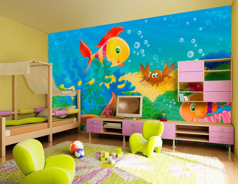 wall story murals